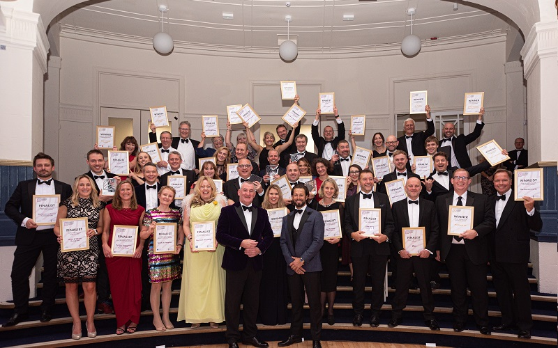 Celebrations for Somerset Business Awards 2019 winners